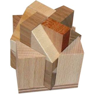 Picture of Puzzle Master Three Wedges Puzzle(PM01165) (Challenging Puzzles)