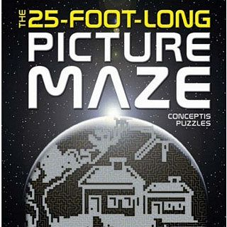 Cheap Puzzle Master The 25-Foot-Long Picture Maze – book Puzzle(PM01456)