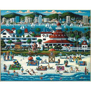 Cheap Puzzle Master San Diego – Collector Suitcase Jigsaw Puzzle(PM01784)