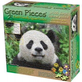 Picture of Puzzle Master Green Pieces - I Need a Hug - jigsaw Puzzle(PM01801) (Challenging Puzzles)