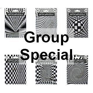 Opticapuzzle - 6 Puzzle Set