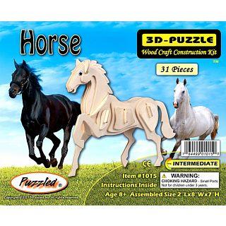 Horse - 3D Wooden Puzzle