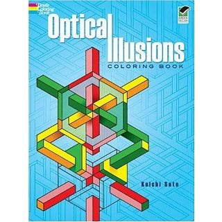 Cheap Puzzle Master Optical Illusions Coloring Book Puzzle(PM02811)