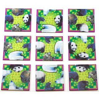 Cheap Puzzle Master Beautiful Bears – Endangered Animals – Wildlifes Puzzle(PM02888)