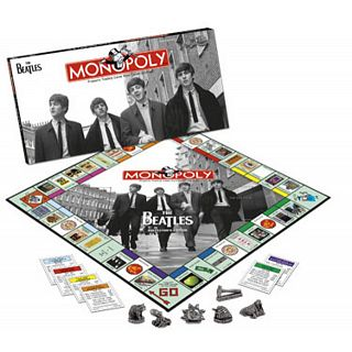 Beatles Edition Monopoly