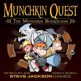 Munchkin Quest: The Munchkin Board Game