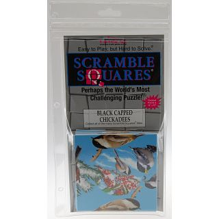 Black Capped Chickadee Scramble Squares