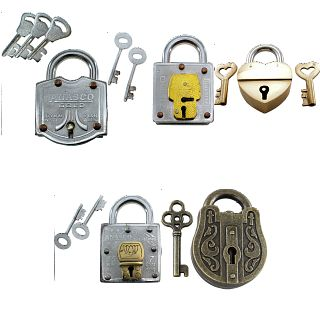 Group Special - a set of 4 Trick Lock puzzles